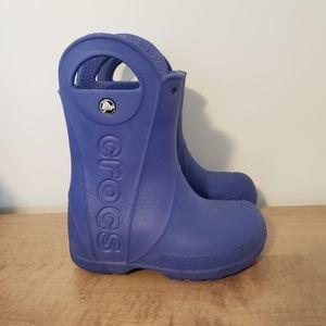Size 9 Crocs boots